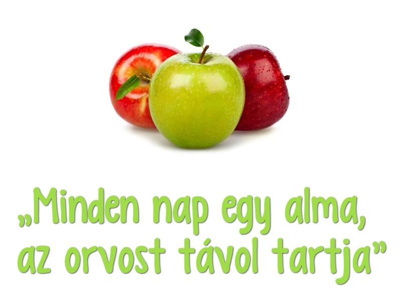 Az alma egészségügyi hatása
