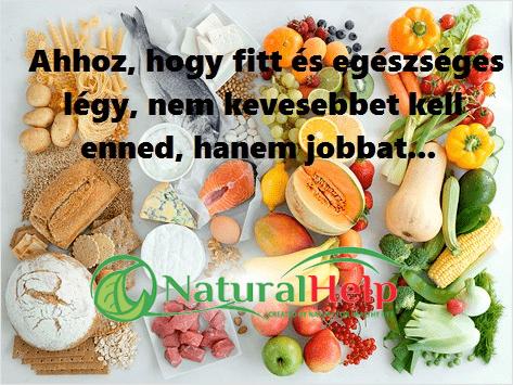 Natualhelp-egészséges-étkezés